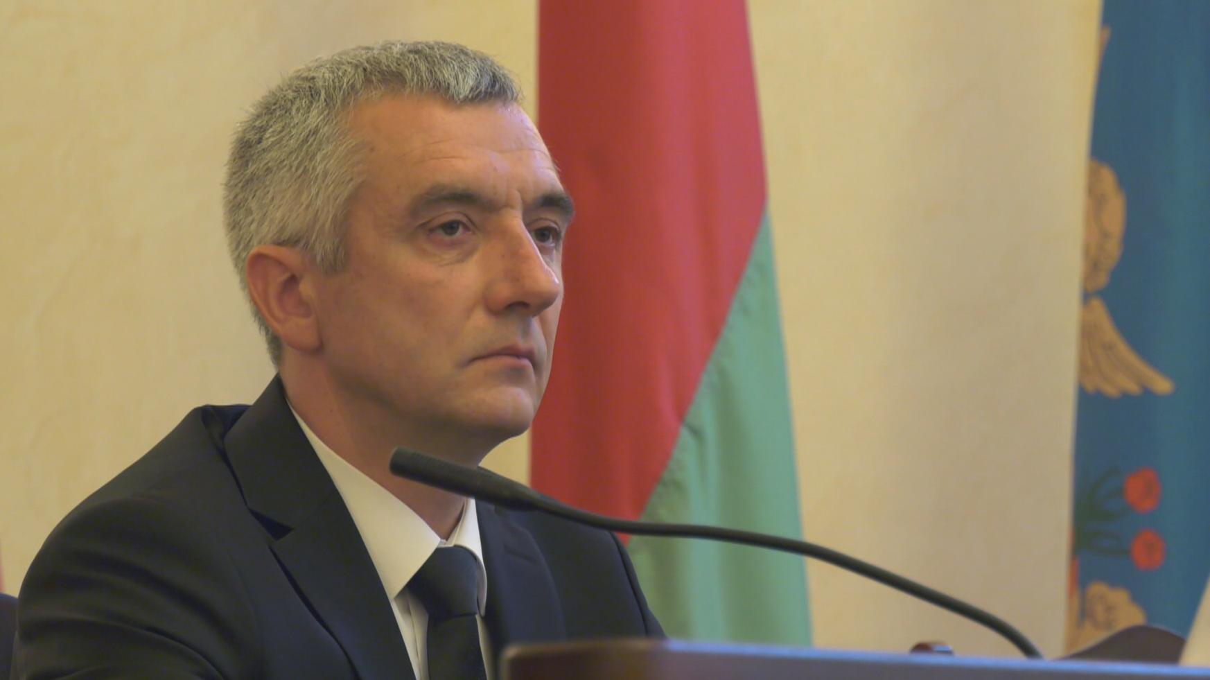 orlov - Председателем Витебского горисполкома стал Николай Орлов (видео)