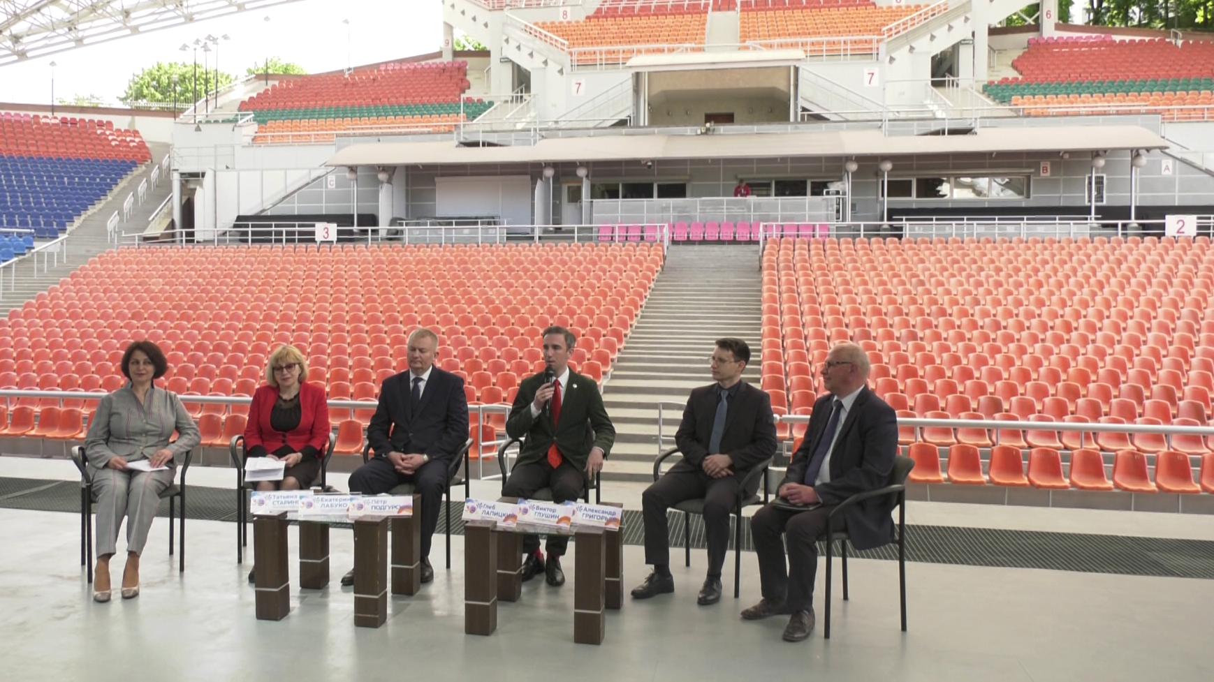 press konf - Представители более 30 стран примут участие в XXX «Славянском базаре в Витебске»  (видео)