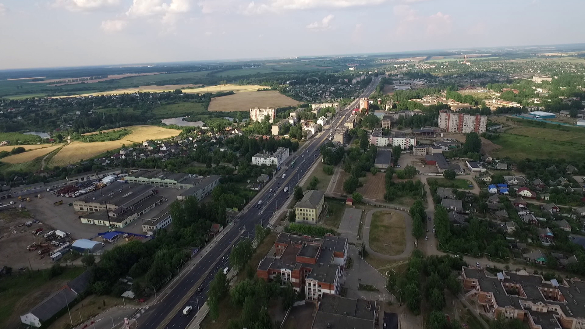 gagarina - В Витебске завершилась реконструкция улицы Гагарина (14.07.2021)