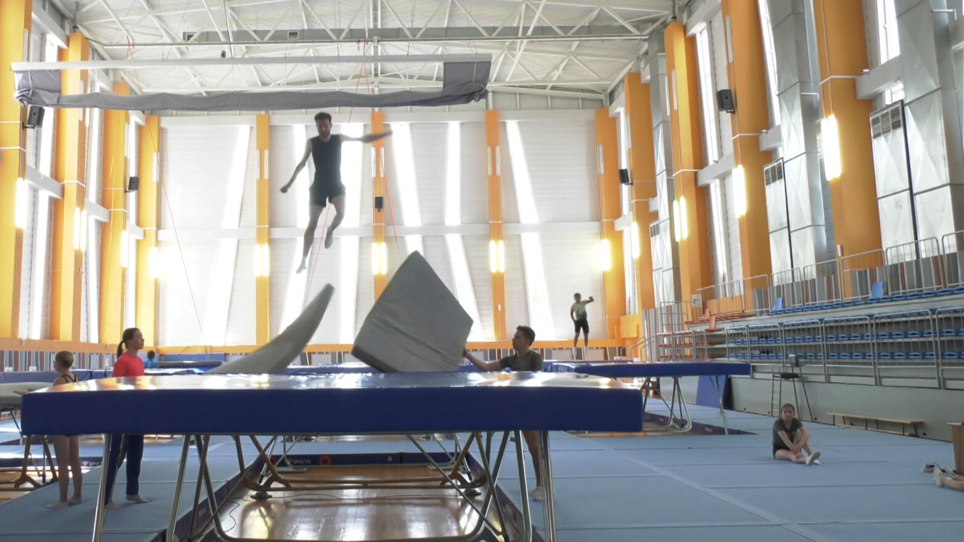 batutnyj centr - Действующие олимпийцы – будущим чемпионам (видео)