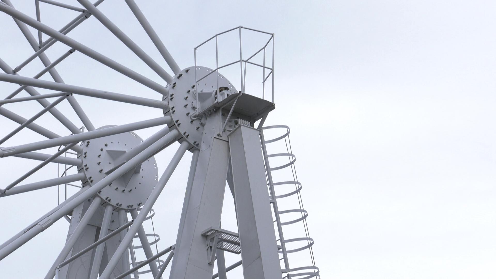 koleso obozrenija - Витебск с высоты птичьего полёта (видео)