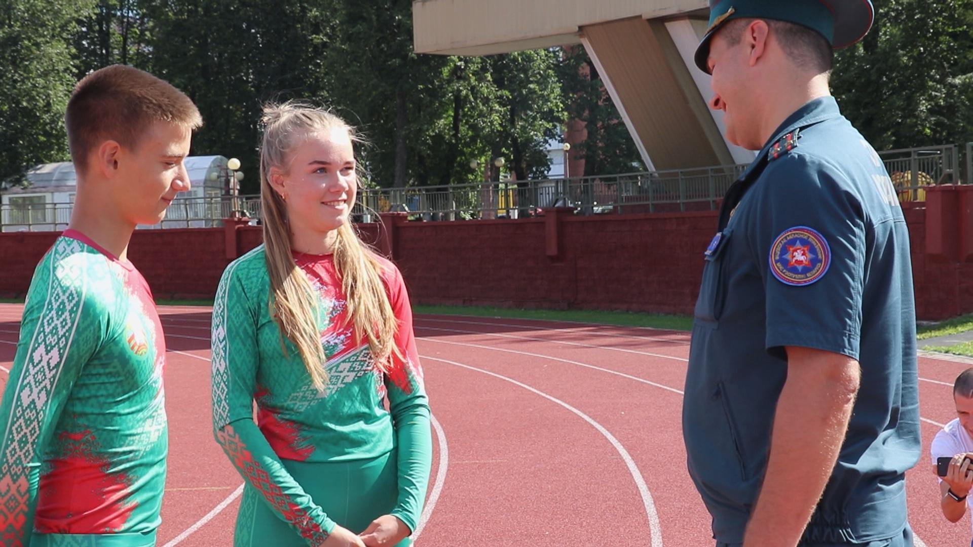 pobeda v sorevnovanijah - Школьница из Витебска стала призёром чемпионата мира по пожарно-спасательному спорту (видео)