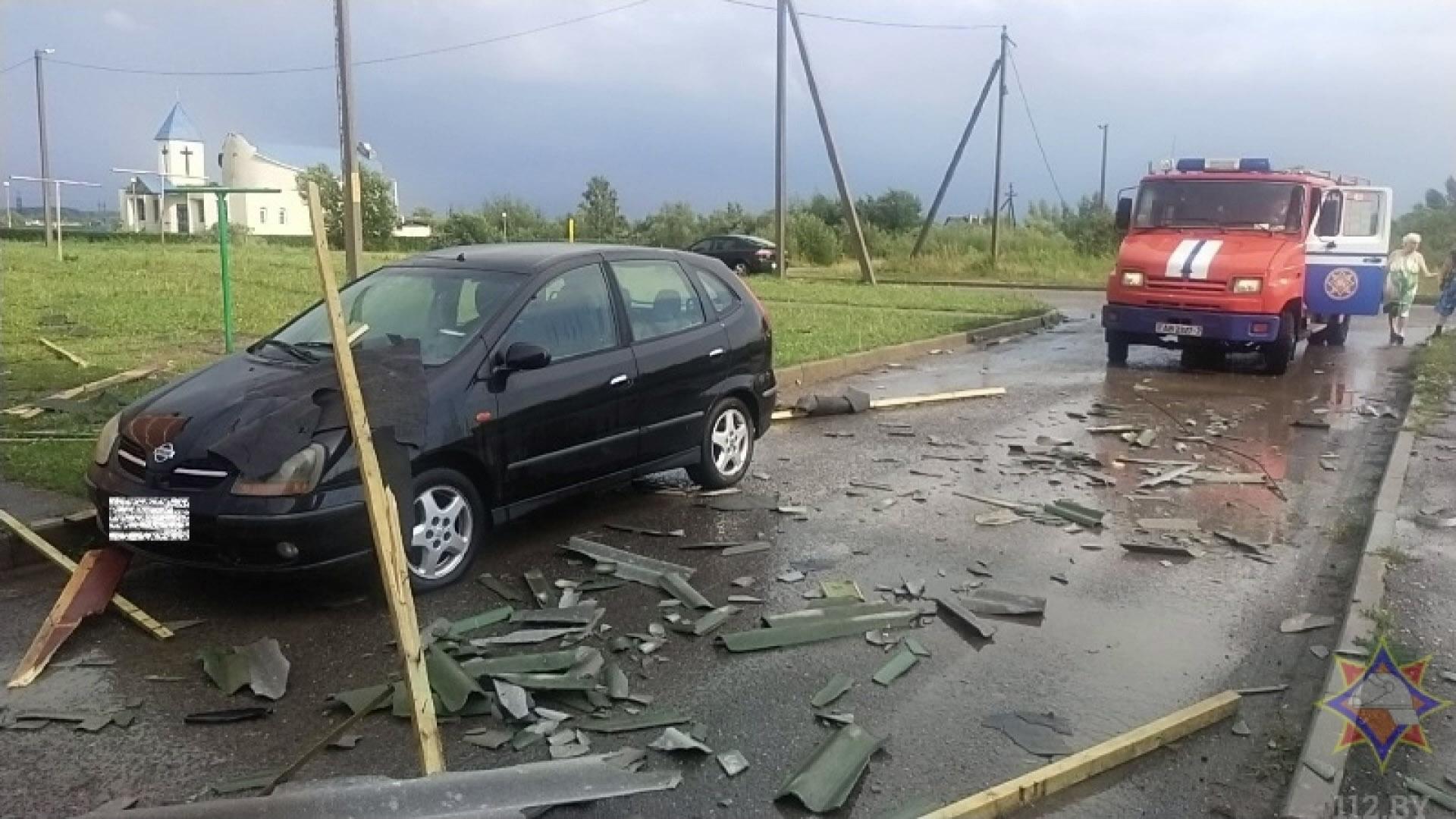 stihija - Последствия стихии ликвидируют в области (видео)