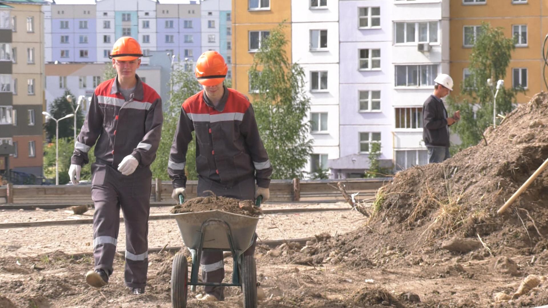 studenty na strojke - Третий трудовой (видео)